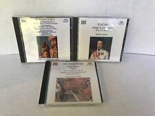 Naxos bundle of 3 CDs Tchaikovsky String Quartets Haydn Szymanowski digital