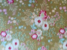 Tilda Fabric NEW Limited Edition MEMORY LANE Lucille Olive