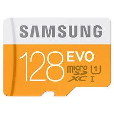 SAMSUNG 128GB EVO MICRO SD 80MB/s UHS-I 10 TF Class Scheda di memoria