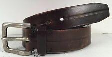 Mens Kenneth Cole Belt 34/85 Brown Leather
