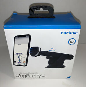 NEW Naztech MagBuddy Dash Hands-Free Mount Mobile Device Phone Telescopic- Black