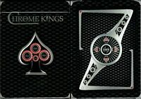 Chrome Kings Carbon Edition Playing Cards Deck USPCC Limited New Sealed Poker