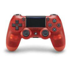 Sony PlayStation 4 Dualshock 4 Wireless Controller Crystal Red New Version