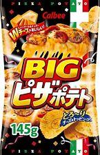 Calbee Potato Chips Pizza Potato BIG 145g Japanese Snack Candy Food Japan