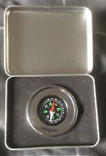 Compass in a metal case