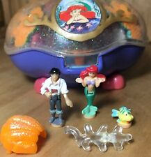 Polly Pocket  💛 1996 - The Little Mermaid Playcase - Bluebird Toys (0406)
