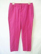 LAFAYETTE 148 Deep-Pink Stretch Pants NWT sz 4P Pet.4