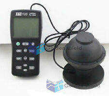 Digital Light Meter Luminous Flux Tester Tes 133 With7pcs Adapterskd