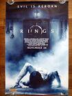 RINGS Evil is Reborn Original 2010s Australian Advance One Sheet Movie Poster