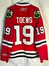 Reebok Premier NHL Jersey Chicago Blackhawks Jonathan Toews Red sz L