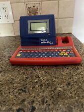 VTECH Talking Whiz Kid Plus Educational Laptop Computer Toy Vintage 18 ACTIVITY