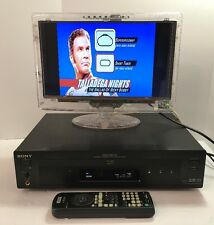 SONY DVP-S7700 REFERENCE AUDIOPHILE CD DVD PLAYER DIGITAL OUT JAPAN $1299