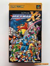 ROCKMAN X2 (Box Damaged) Super Famicom SFC Nintendo SNES JAPAN