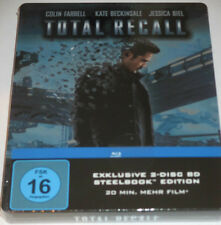 Total Recall - 2 Blu-ray/NEU/Action/Colin Farrell/Kate Beckinsale/Steelbook