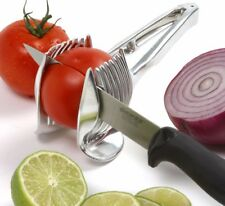Norpro 5140 Tomato Onion lime lemon Holder and Slicer Aid