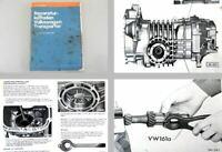 Reparaturleitfaden VW Transporter T3 Werkstatthandbuch 4-Gang Schaltgetriebe 091