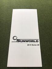 safety card sunworld dc 9 30