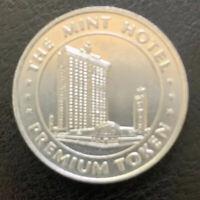 The Mint Hotel Casino Aluminum Premium Token Las Vegas Nevada