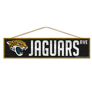 NFL Jacksonville Jaguars Avenue Wood Sign Wooden Sign Wood Wall Decoration Decor