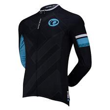 PEARL IZUMI Elite Long-Sleeve Jersey CM003  MEN's MEDIUM  Black-Blue-White $125
