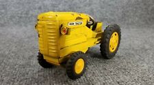 VINTAGE TIN LITHO FARM TRACTOR FRICTION YELLOW MADE IN JAPAN MODERN TOYS