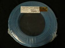 22 GAUGE 2 CONDUCTOR 100 FT BLUE ALARM WIRE SOLID COPPER HOME SECURITY CABLE