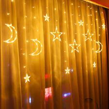 LED Curtain Lights Wedding String Fairy Light Waterproof Birthday Home Decor