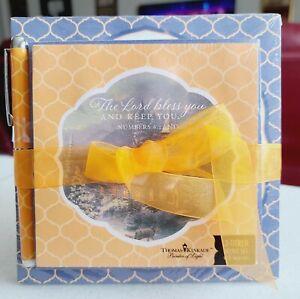 T. Kinkade 3 PC / 3 Memo Note Pad Set w/ Scripture + Pen - Lord Bless