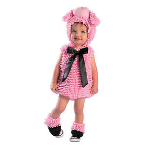 Squiggly Piggy PIG Plush Chenille Costume Baby Toddler 12-18 M