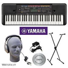 61 Key Keyboard Yamaha® w/ Stand Headphones Electronic Music Electric Piano Set