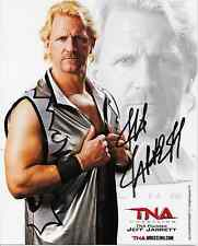 JEFF JARRETT TNA WWE SIGNED AUTOGRAPH 8X10 PROMO PHOTO WRESTLING INK COA