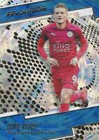 2017 Panini Revolution Soccer - Fractal Parallel - Leicester City FC  - 63-69