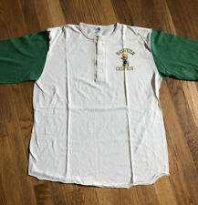 VTG Boston Celtics Raglan Hensley Shirt Larry Bird Tatum Pierce 80's Artex NBA T