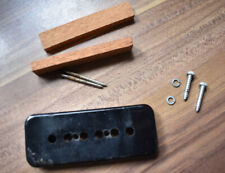 More details for vintage 1957 gibson p90 parts - cover - spacer blocks - screws - washers