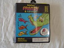 ATARI SOFTWARE Frenzy & Flip Flop by EduFun!  Cassette for 16K Atari computers