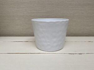 Ceramic Small White Planter