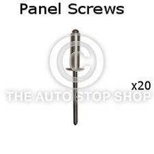 Panel Screw Nail 2,9  Peugeot Range 1007/106/2008/206/207/3008 etc 20pk 10623pe