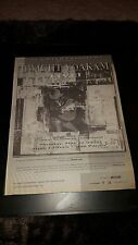 Dwight Yoakam Live Rare Original Radio Promo Poster Ad Framed!
