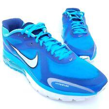 db47debf2b85 Nike Air Max Alpha 2011 Men s Running Shoes Size 12 Blue Silver 454347-400