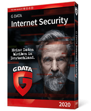 G DATA Internet Security 2020 1PC Deutsch - 12 Monate GData Vollversion