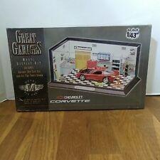 Estes Great Garages Model Kit 1/43 Chevrolet Corvette 8001 Unopened NEW NIB