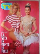 TV Sorrisi e Canzoni n°16 1983 Heather Parisi Carla Fracci - ROMA Calcio  [D40]