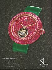 JACOB & CO Watch Print Ad