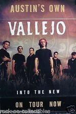 Vallejo 2000 Into The New Original Perforated Tour Promo Poster