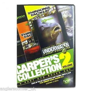 Korda Carpers Collection Volume 2 Box Set DVD / Carp Fishing