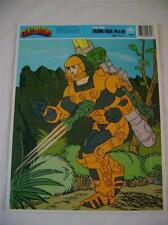 1986 Centurions Jake Rockwell  Ruby-Spears Enterprises Frame Tray Puzzle Golden