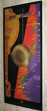 New GIBSON GUITAR 1994 Centennial Celebration POSTER 16x37 100 Years Les Paul NM