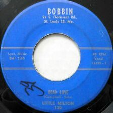 LITTLE MILTON 45 Dead Love / My Baby Pleases Me BOBBIN Original R&B #BB1059