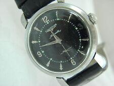 Vintage  Longines Watch Co. Swiss Automatic 17J Black Dial #9299081