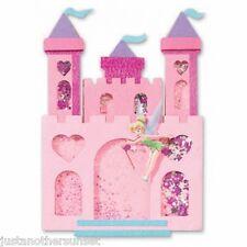 Disney Tinker Bell Tinkerbell Jolee's Shakerbox Castle Fairy Star Glitter Party